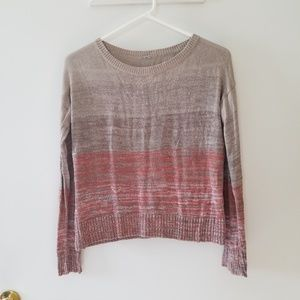 Chan Luu Ombre Sweater Women's One Size Tan